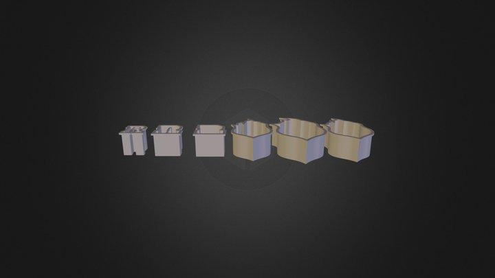 Cutter R Logo Fixed 3D Model