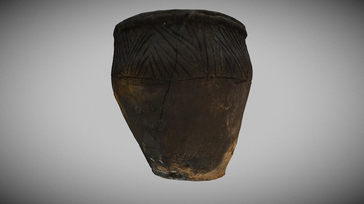 Late Bronze Age vessel 3D Model