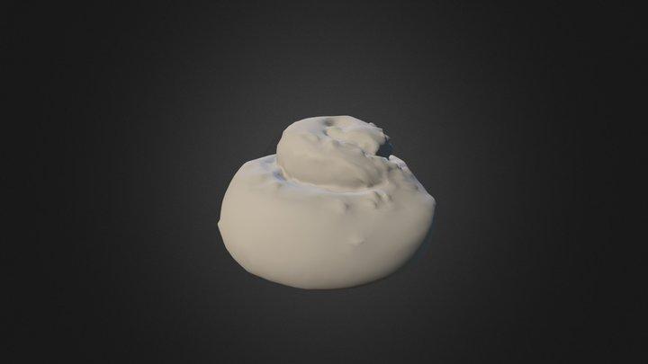 Cinnamon Roll 3D Model