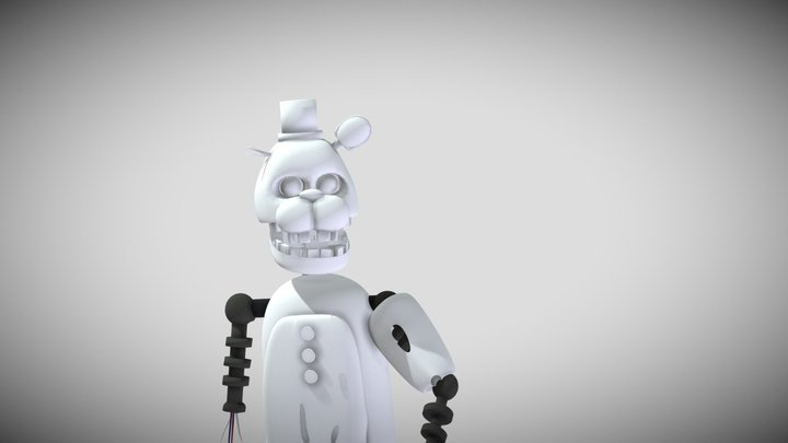 Old Spring Freddy 3D Model