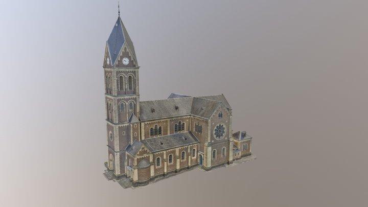 Kirche Engers, Germany 3D Model