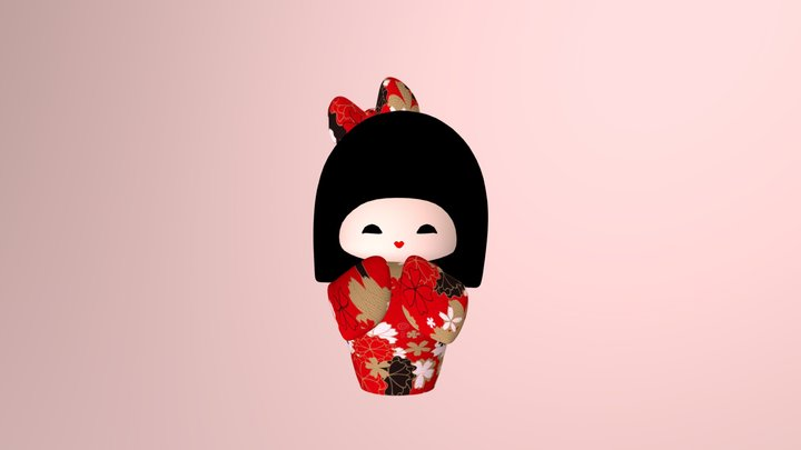 Kokeshi_TamusGalaxy 3D Model