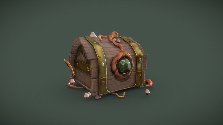 DS - Chest (after exam) 3D Model