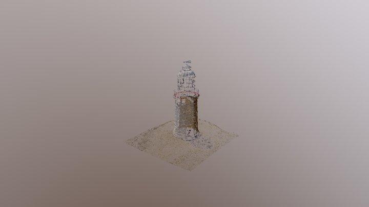 DIWA Woodman Point Lighthouse Sparse Cloud 3D Model