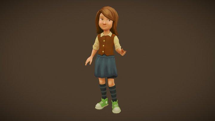 Spirit Hero: Ada 3D Model