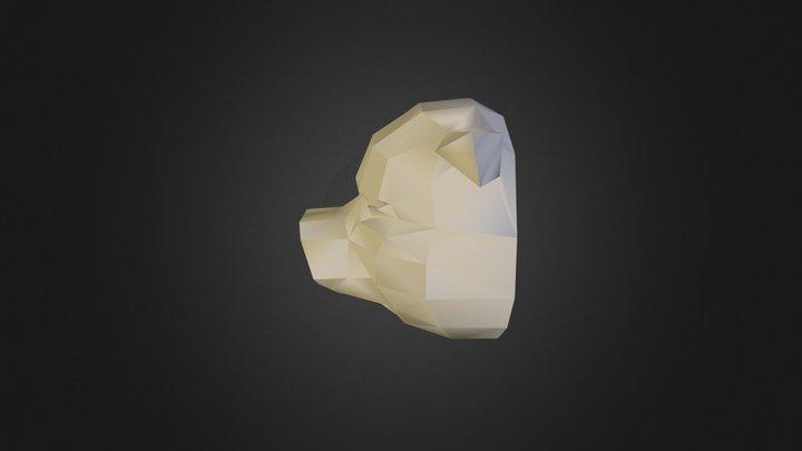 Swine Bust V 2 02 3D Model