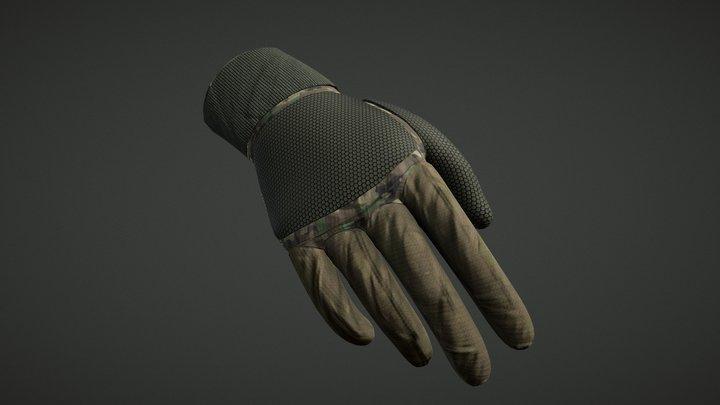 Military Glove 3D Model