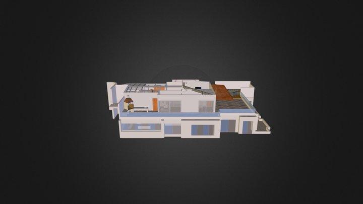 Casa Brescia - Segundo Piso 3D Model