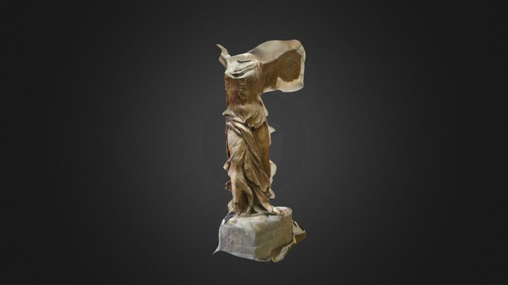 Winged Victory of Samothrace 3D Model