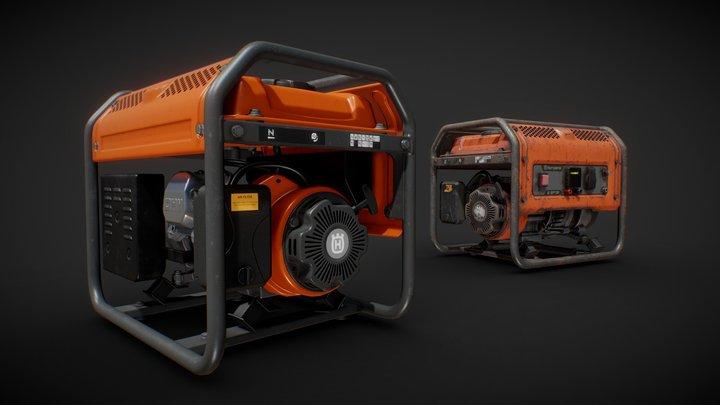 Husqvarna Generator 3D Model