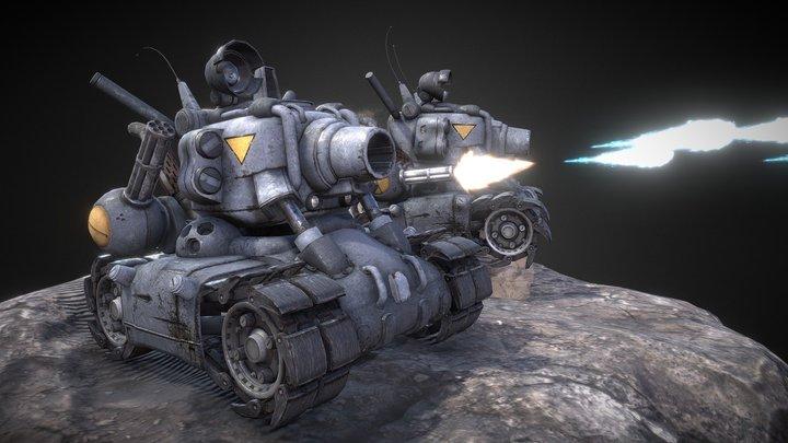 Metal Slug 001 3D Model