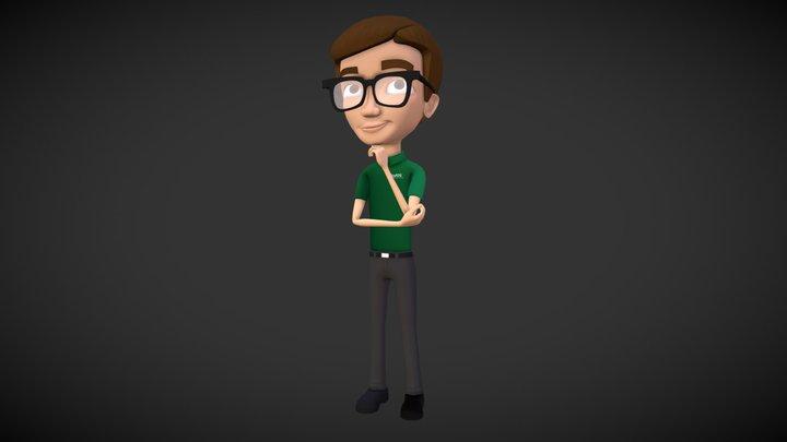 Smarty 3D Model