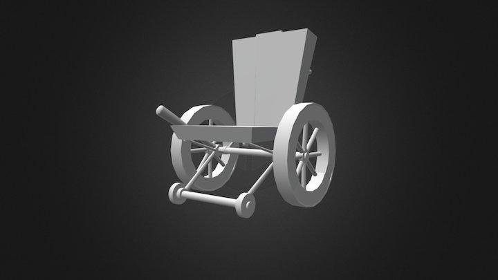 Wheel Chair Model 3D Model
