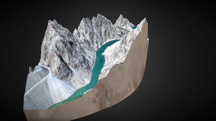 3D Mountain Model #3 / Artvin-Yusufeli 3D Model