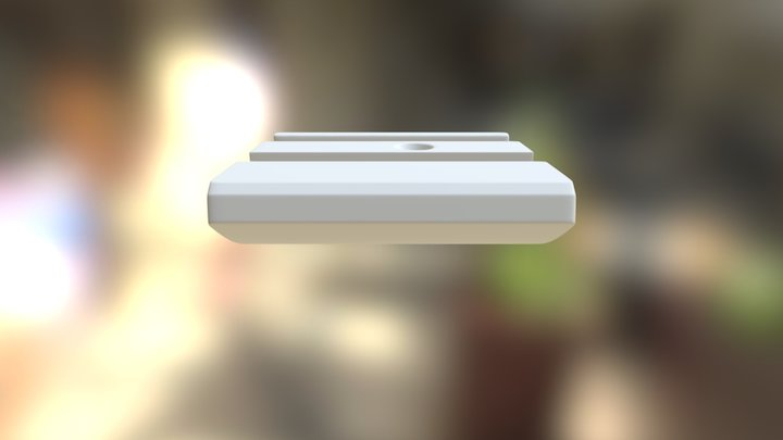 Shower Part Vs3 With Screw Hole 3D Model