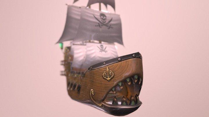 Monster Ship 3D Model