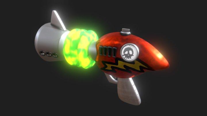 Cortex Ray Gun - Crash Bandicoot 3D Model