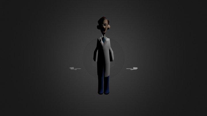 Edgar 3D Model