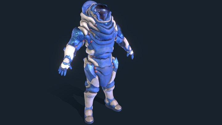 Juggernaut Spacesuit 3D Model