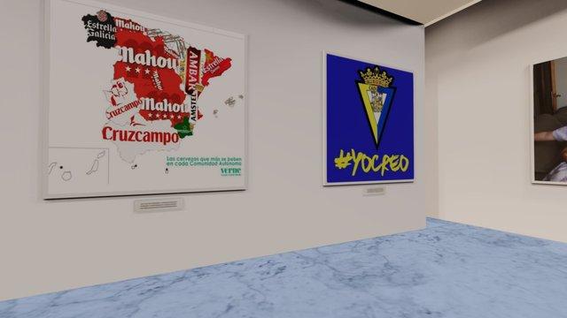 Instamuseum for @migangmorcor 3D Model