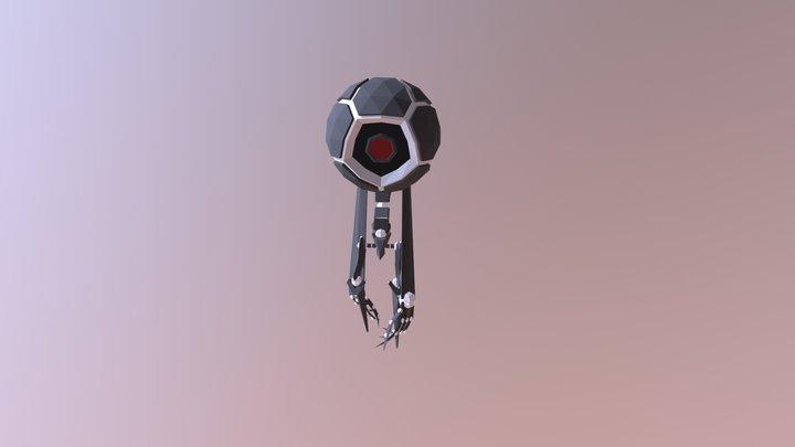 Walker bot 3D Model