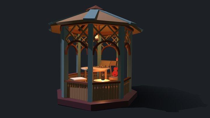 5 Things Draft In Color 3D Model