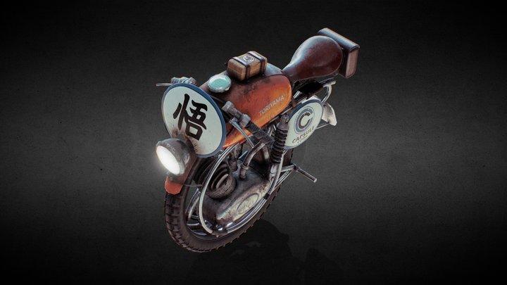 Monobike - Toriyama DragonSeeker 3D Model