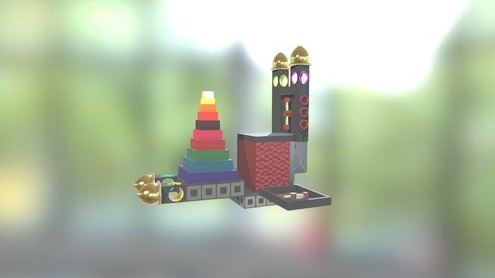 The Box 3D Model