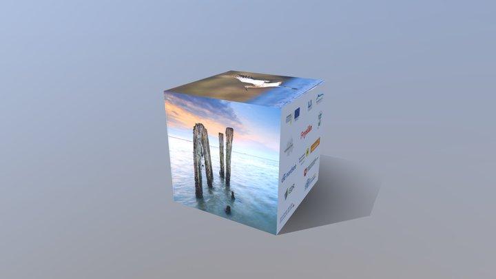 Werbewürfel 03 3D Model