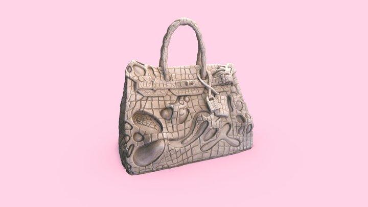 STONK BAG ( c l a y ) 3D Model
