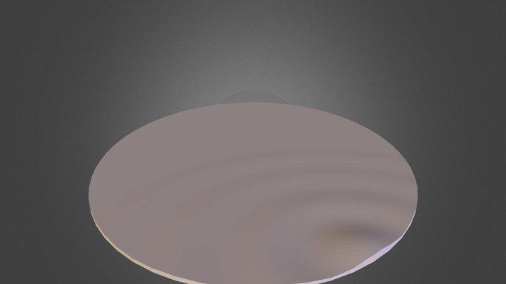 Ripple Mirror 3D Model