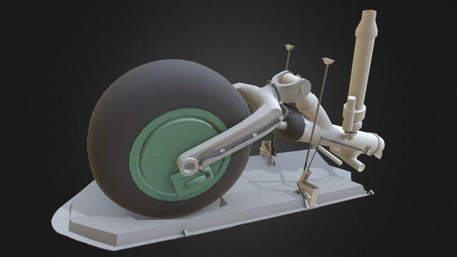landing gears 2 3D Model