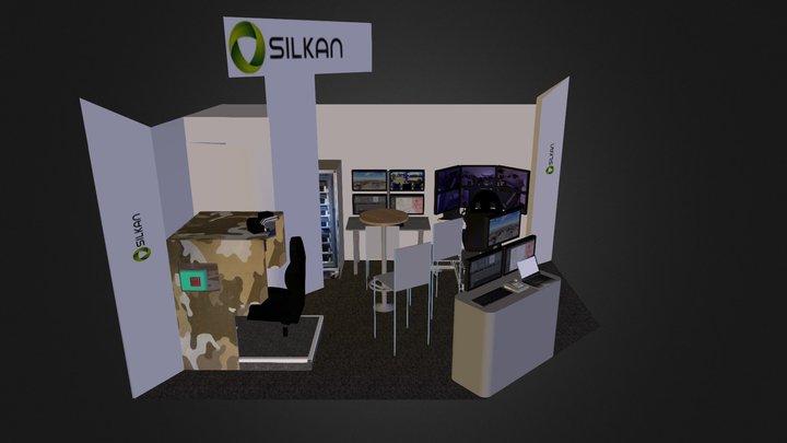 StandEurosatory 3D Model