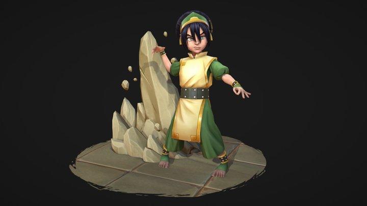 Toph - Avatar TLA fan art 3D Model