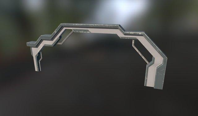 Sci-fi Arch 3D Model