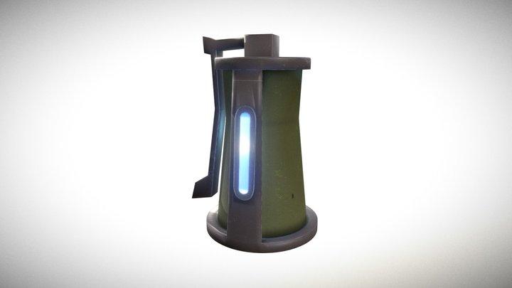 Fortnite Grenade 3D Model