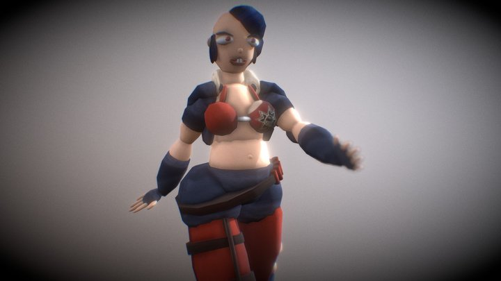 Alicia Fan Made Character From Spacelords 3D Model