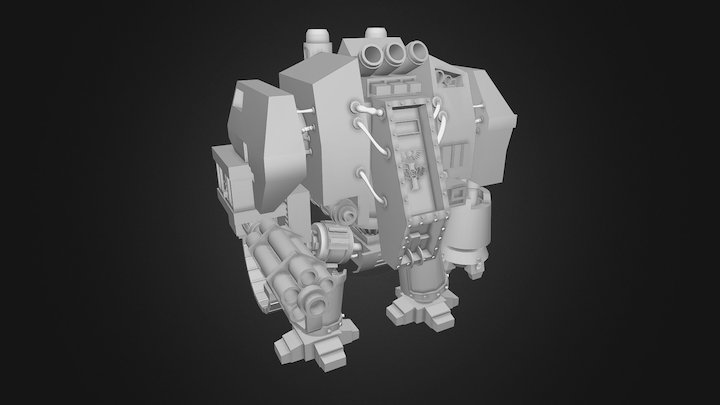 Dreadnaught 3D Model