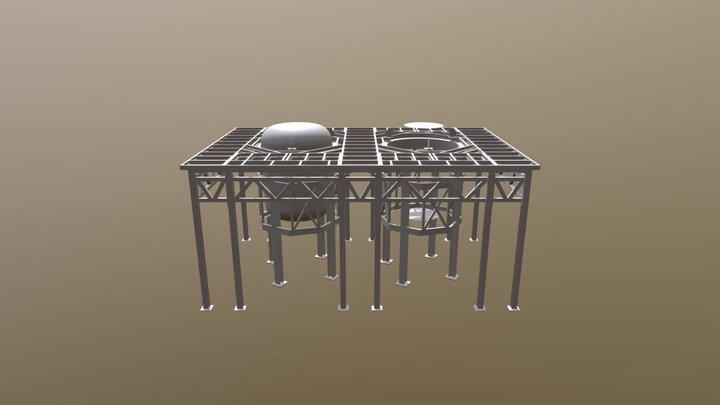 ENSEMBLE PLATEFORME 3D Model