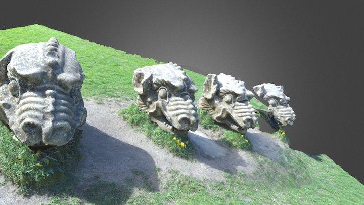 Gargoyles 3D Model