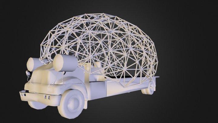 Artcar V3 3D Model
