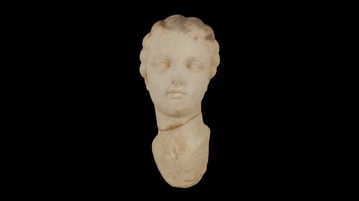 Roman Statue Head, El-Jem Museum 3D Model