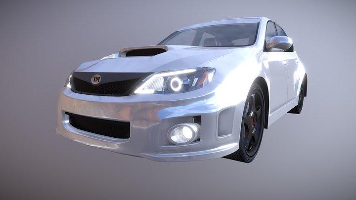 TM's Hatchback 3D Model