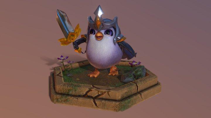 Pengu [3D Model] - League Of Legends Fanart 3D Model