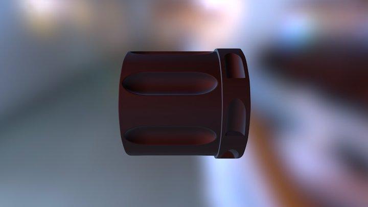 Nagant M 1895 Release 1898 drum/cylinder 3D Model