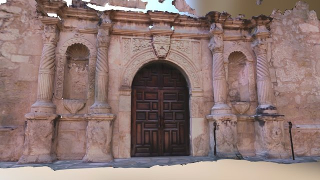 Alamo captured with DotProduct 3D Model