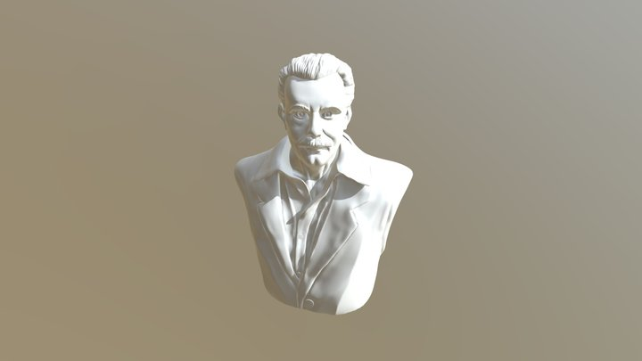 Georges Bernanos 3D Model