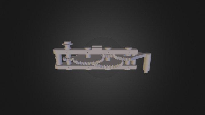 Optical Encoder Resolution Magnifier v8 3D Model