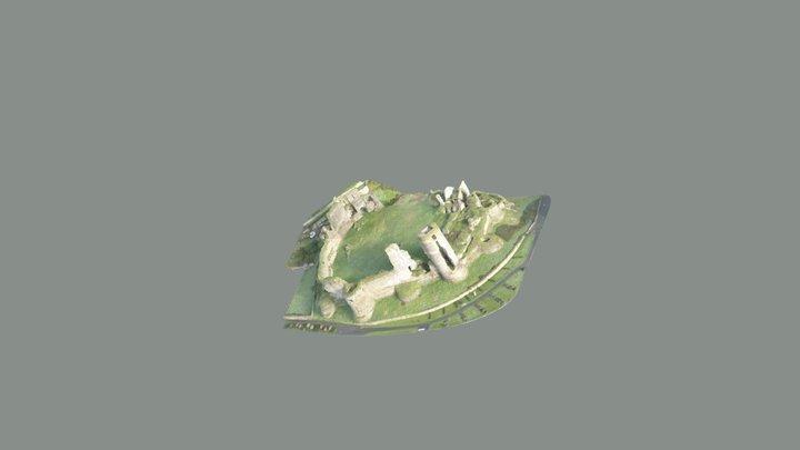 Château médiéval de Gille de Rais (49) 3D Model