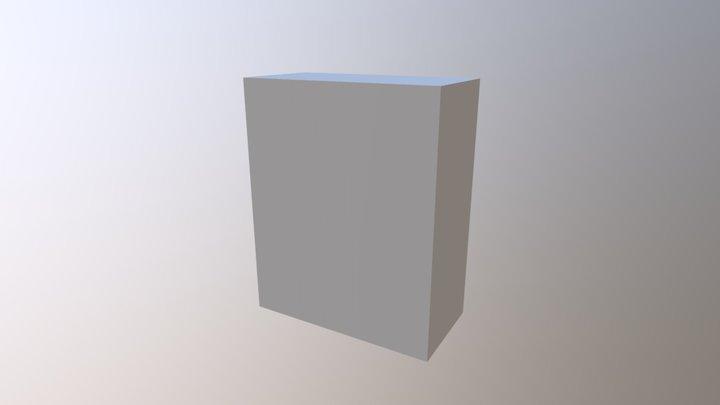 Piece of Furniture 3D Model